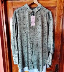 Košulja haljina Zara oversize XXL
