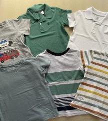 6 majica kratki rukav