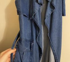 Zara jeans prsluk