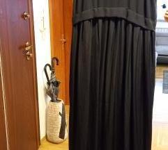 Zara crna slip haljina M NOVO