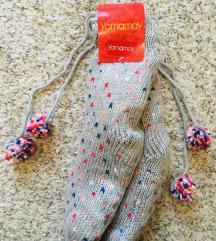 Yamamay nove s etiketom tople čarape papuče vel 38