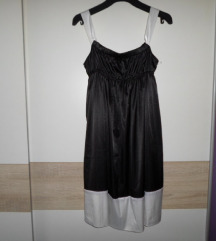 Zara krasna nova crno/bijela haljina vel.S/M