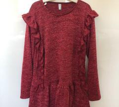Crvena haljina za djevojčice vel 128