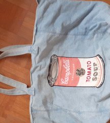 Pepe Jeans by Andy Warhol torba