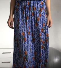 Šarena maxi duga haljina