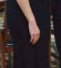 Duga haljina sa zlatnim detaljima PT UKLJUČENA