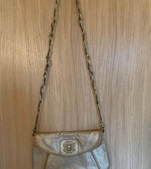 Accessorize zlatna torbica