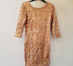 Novo ! Zlatna haljina