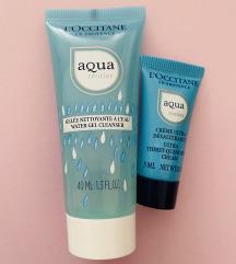 L'occitane set Aqua Reotier