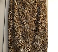 Leopard pencil suknja Zara L