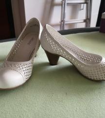 Bijele prozračne cipele 37