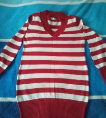 crveno bijela  tunika  S-M