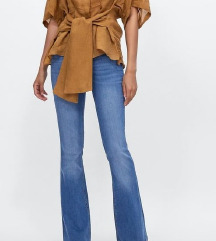 %Zara flared jeans