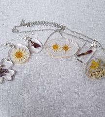 AKCIJA!! Cvjetne unikat ogrlice