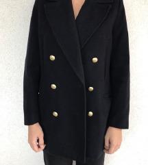 H&M tamnoplavi kaput