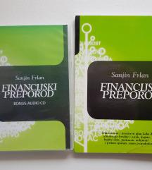 knjiga i cd FINANCIJSKI PREPOROD Sanjin Frlan