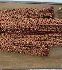 Zara košulja haljina retro uzorka