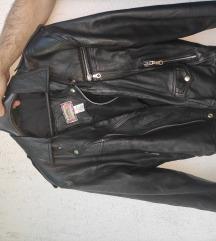 Muška kožna jakna