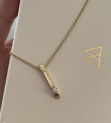 PDPaola nova ogrlica (18k pozlata srebra)