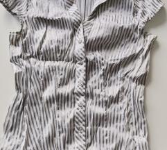 Košulja srebrna Zara Basic
