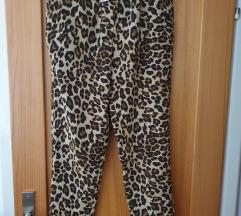 Animal print hlače