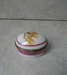Vintage keramička pill box