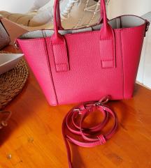 MANGO roza torba