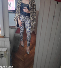 lot leopard print komplet %%%
