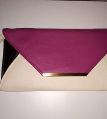 Color block pismo torba