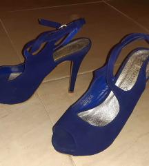 Mass plave sandale od prave kože br.40