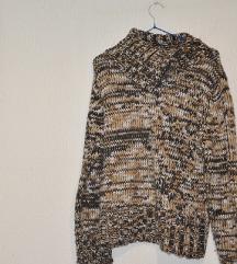 Smedji ravni pulover