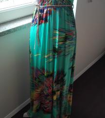 Zelena duga haljina