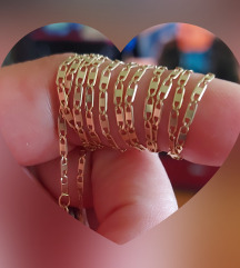 Zlatni 585 lančić 70cm dug