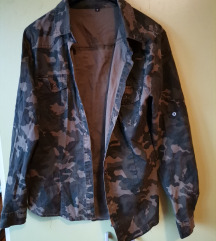 Vojnička košulja/jaknica (pt.gratis)