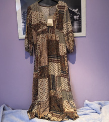 Pull & bear boho duga haljina S 36