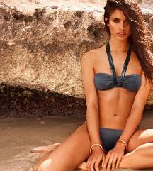 Crno-srebrni bikini Calzedonia
