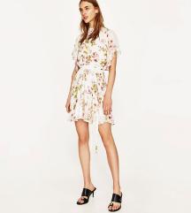 AKCIJA - Zara boho cvjetna haljina