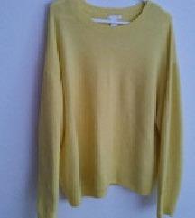 H&M žuti pulover