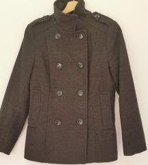 Kratki sivi kaputić