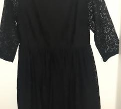 Čipkasta crna haljina, vel. L, New Yorker