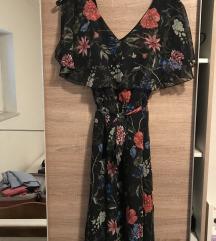 Cvjetna midi haljina
