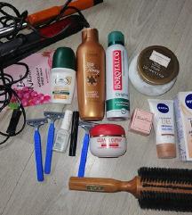 Lot kozmetike odjeće obuće+ pokloni