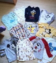 Mickey mouse & Disney lot za dečke 86/92