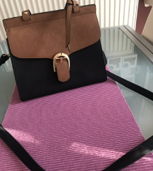Crno-smeđa torbica