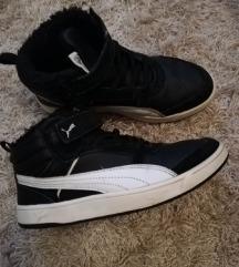 Puma kožne tenisice s krznom