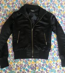 Satenska bomber jaknica xs s velicine