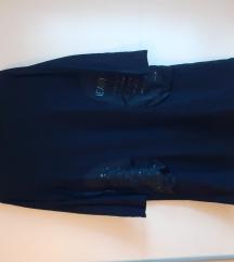 Crna tunika-haljina