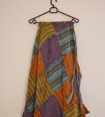 Ornament indijska suknja na preklop