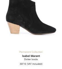 Dicker Isabel Marant 38,5