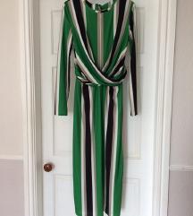 Zelen midi haljina M
